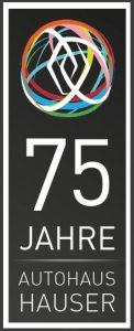 75 Jahre Autohaus Logo